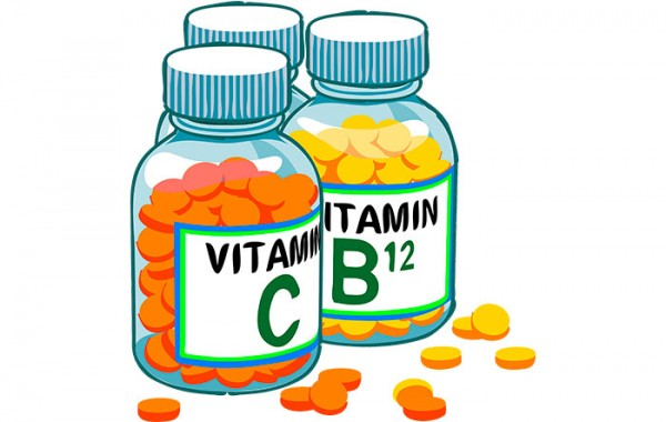 Vitaminas, remedio curativo