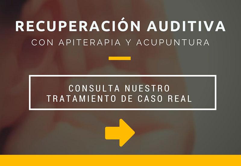 Recuperación Auditiva con Apiterapia y Acupuntura